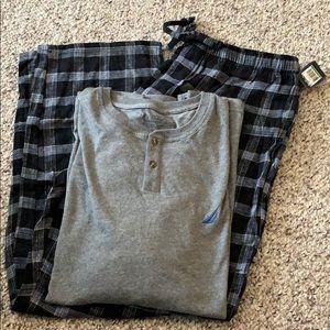NWT Nautica pajamas set